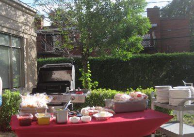 Barbecue à notre résidence à Ville Saint-Laurent - Résidence Alexis-Nihon (Résidence à Ville Saint-Laurent)