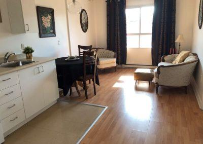 Salon de résidence à Ville Saint-Laurent à Montréal - Résidence Alexis-Nihon Résidence pour personne âgée à ville Saint-Laurent